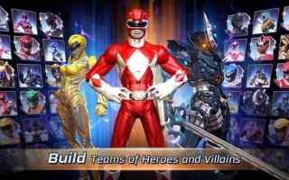 Mobile games: android iphone picchiaduro power rangers