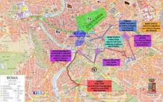 Roma: black bloc  isis  roma assediata