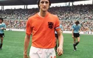 Calcio: johan cruyff  mondiali  morte  calcio