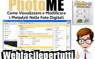 Fotoritocco: photome  programma  gratis  fotografia  metadati