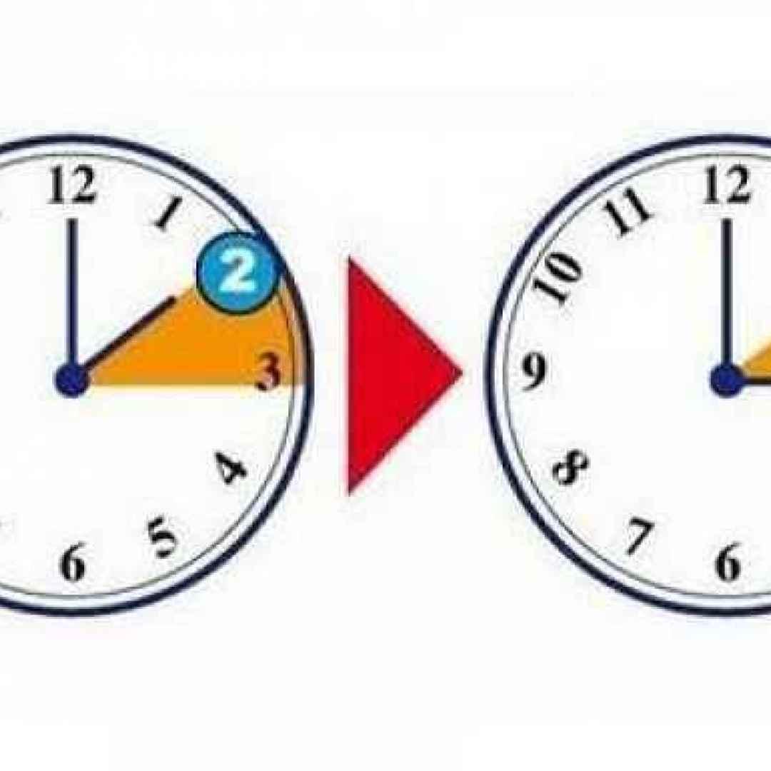 Stanotte cambia l 39 ora lancette avanti dalle 2 alle 3 ora for Quando cambia l ora legale 2017