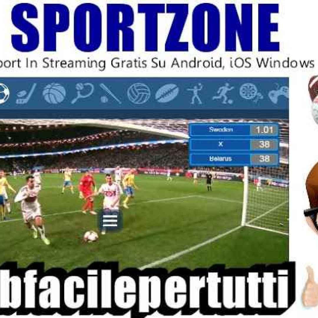 Citaten Sport Zone : Sportzone come guardare tutto lo sport in streaming