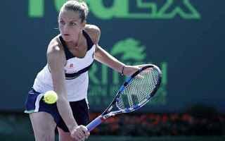 Tennis: tennis grand slam karolina pliskova