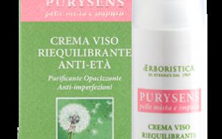 Bellezza: crema viso  erboristica  pelle mista