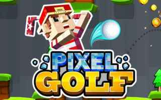 Mobile games: android golf sport indie games pixel art