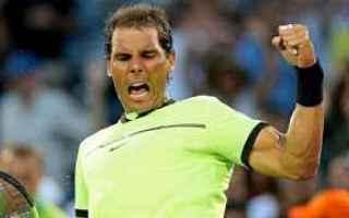 Tennis: tennis grand slam fognini nadal