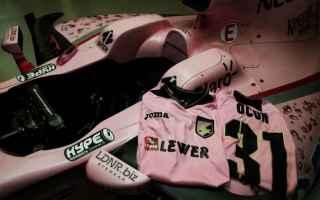 Formula 1: palermo  force india  rosa  formula 1