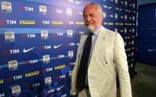 Calcio: juventus  napoli  de laurentiis