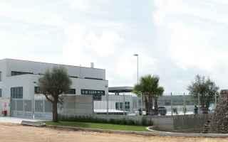 Delegazione internazionale in visita presso lazienda Fiusis di Calimera (Le) per studiare la filiera
