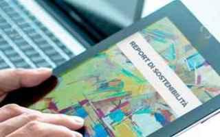 Economia: report  sostenibilità  bilancio