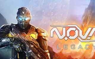 Mobile games: android videogames gameloft n.o.v.a