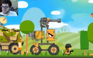 Mobile games: super tank rumble  android  online