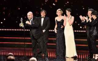 Cinema: david di donatello  2017  valeria bruni tedeschi