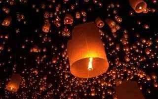 lanterne volanti  fontane luminose