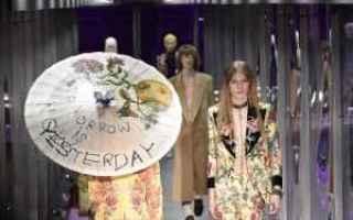 Moda: settimana della moda  milano  gucci