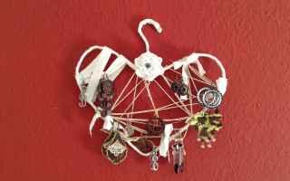 Design: riciclo creativo  porta orecchini diy