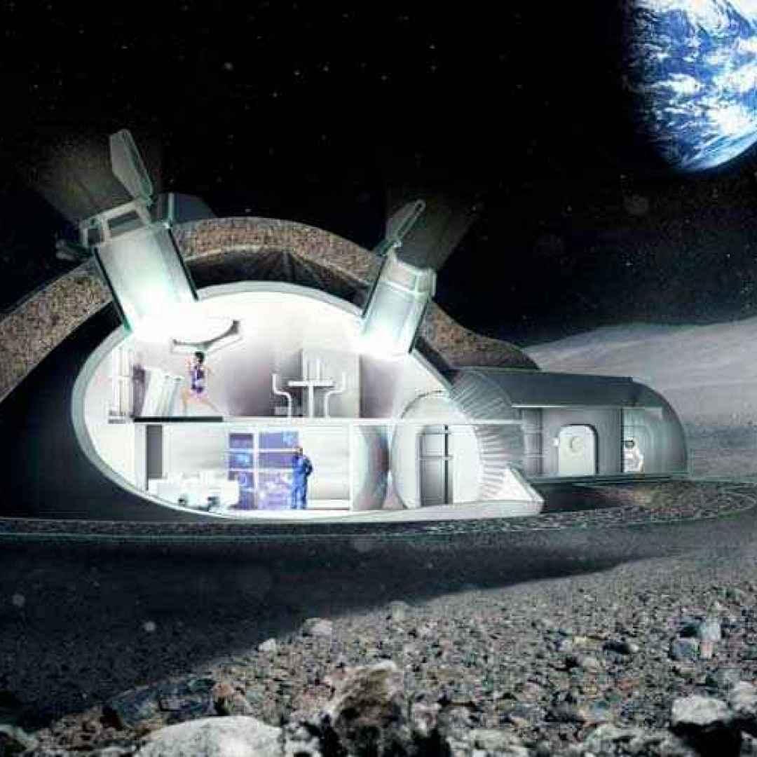 missioni spaziali  marte  luna  stampant