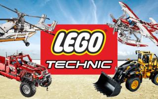 Giochi: LEGO Technic, i 10 set più interessanti del momento