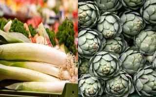 Gastronomia: carciofi  porri  gastronomia  ricette