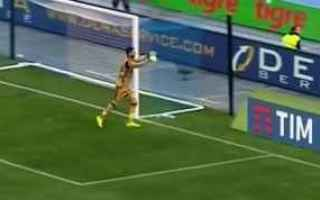 Serie A: donnarumma milan calcio papera news