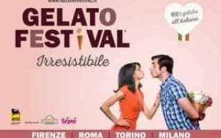 Gastronomia: gelato festival  gastronomia  gelato
