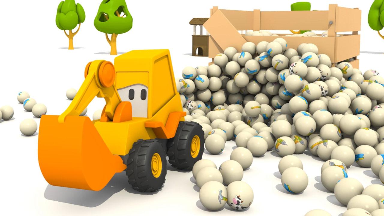 Cartoni animati per bambini max e gli attrezzi da lavoro