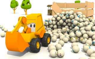 Video: cartoni animati  bambini  camion