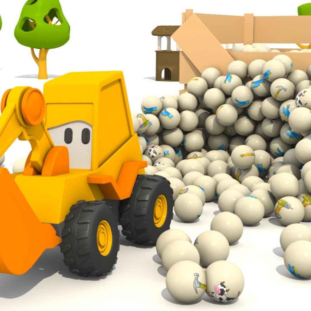 Video cartoni animati per bambini max e gli attrezzi