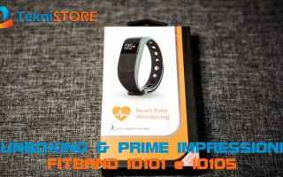 Android: unboxing  fitband  smartband