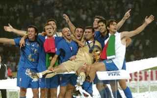 Nazionale: podio  materazzi  mondiale  italia