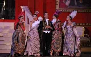 Teatro: la vedova allegra  operetta  teatro