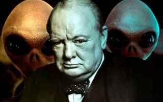 Storia: alieni  churchill  extraterrestri  ufo