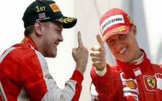 Formula 1: f1  ferrari  vettel  omaggio  schumi