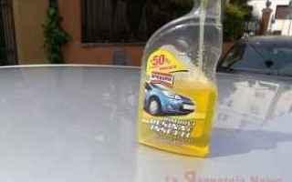 Automobili: carrozzeria  resina  insetti