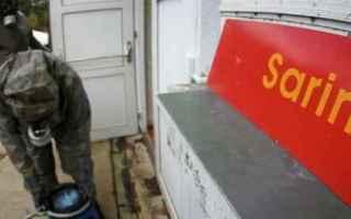 dal Mondo: siria  gas attack  sarin