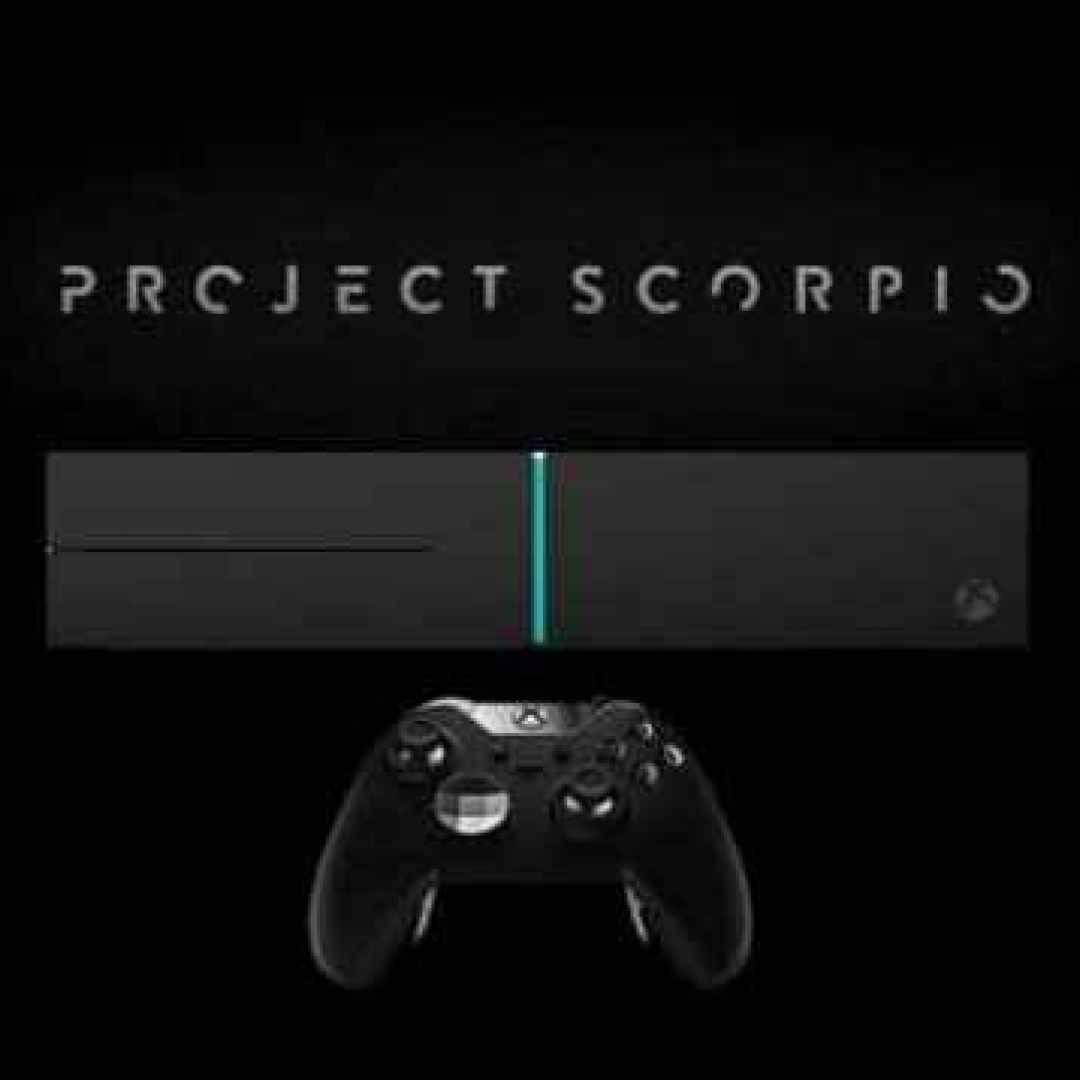xbox  scorpio  consolle  microsoft