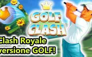 Mobile games: golf clash  golf  sport  android