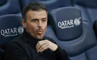 Champions League: juve-barcellona  luis enrique