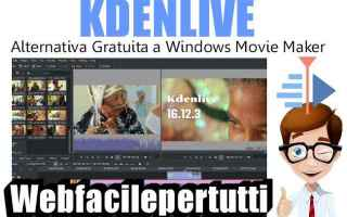 Software Video: kdenlive alternativa window movie maker
