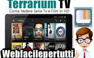 File Sharing: terrarium tv  app  streaming  film
