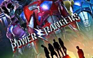 power rangers  cinema  supereroi