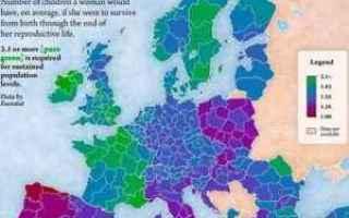 Sesso: fertilità  europa  italia  nascite