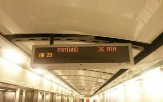 Roma: atac  roma  metro c