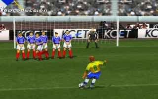 Calcio: pes  playstation  roberto carlos