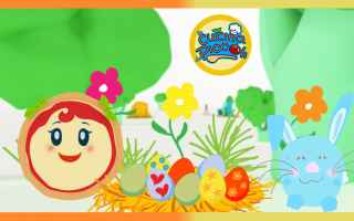 Video divertenti: cartoni animati  bambini  uova di pasqua