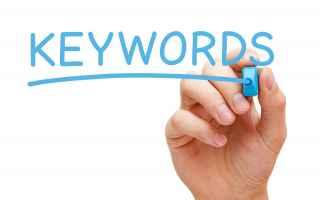 seo  ricerca parole chiave