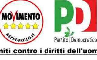 partito democratico  movimento 5 stelle