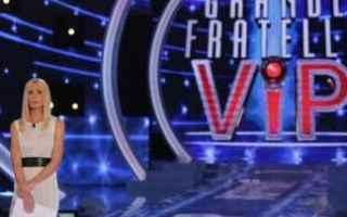 Televisione: grande fratello vip  gossip  news