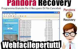 Software: pandora.recovery dati recupero