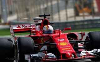 Formula 1: bahrain  pl2  ferrari  vettel